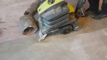 PVC vloer verwijderen