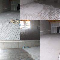 Vloer verwijderen en vloerverwarming. De Risico's